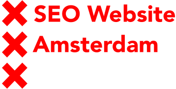 Seo Website Amsterdam